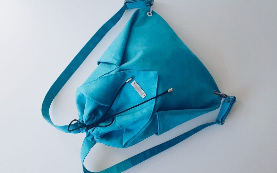 Origami BACKPACK / Turquoise