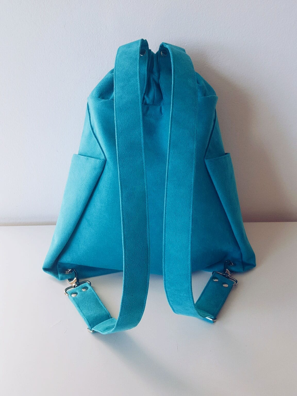 ORIGAMI Backpack_Turquoise (4)
