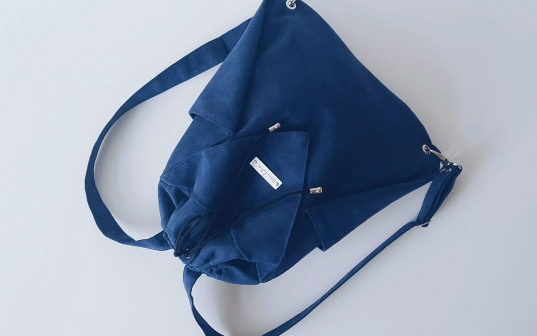 Origami BACKPACK / Blue