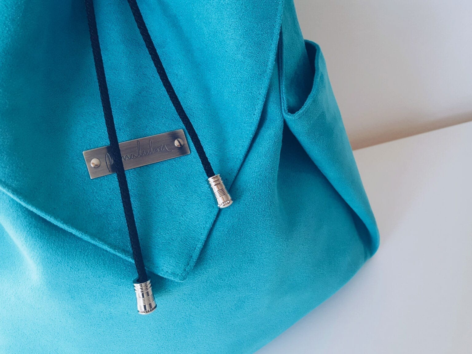 ORIGAMI Backpack_Turquoise (2)